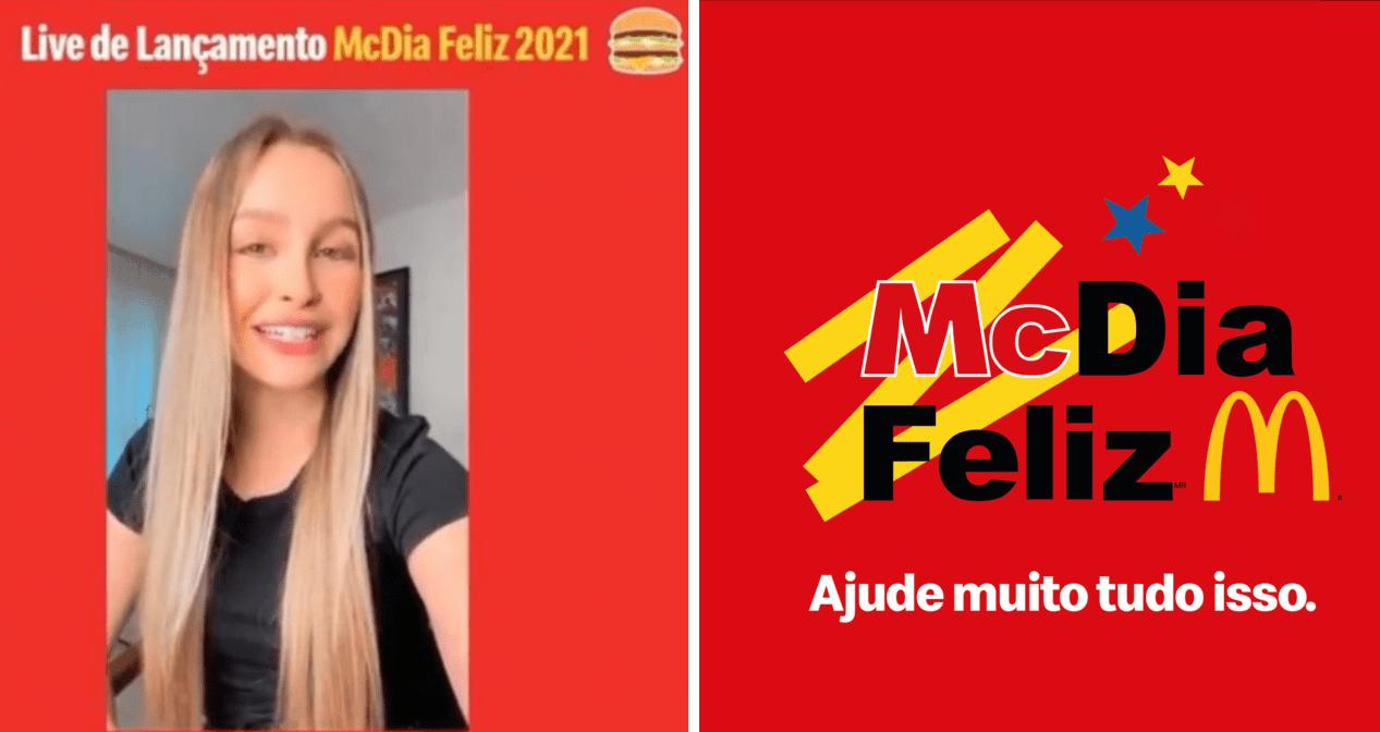 Carla Diaz é a nova embaixadora do McDia Feliz